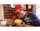おっさんの食事風景#3 チーズ×5牛丼 フルHD