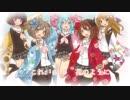 【ハナヤマタOP】花ハ踊レヤいろはにほ 歌ってみた✿ Nico Rabbit's