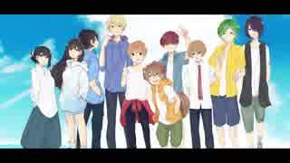 【Love so sweet】歌ってみたver,summer edition thumbnail