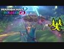 【マリオカート8DX】 vs #24 英傑リンクハナちゃん青ローラー【実況】