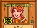 頑張る社会人のための【STARDEW VALLEY】プレイ動画63回
