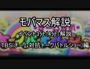 【2000位狙い以上向け】モバマス解説 イベント3分(4分)解説 TBS(チーム対抗トークバトルショー)編