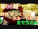 【麺へんろ】第8麺 野洲 手づくり舎ふぁ~もあのたでうどん【古都&湖国編 3日目】