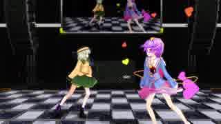 【東方MMD】ハッピーシンセサイザ【古明地姉妹】【MMD】【ぱんつ注意】【1080p】