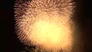 2018.8.11 (静岡)袋井遠州の花火 日本一メロディースターマイン 「天国と地獄」