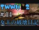 【Total War:WARHAMMER Ⅱ】女王の破壊活動日記 #14(終わり)【夜のお兄ちゃん実況】