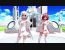 【MMD】らぶ式Yuki・Rougeで『ハッピーシンセサイザ』1080p