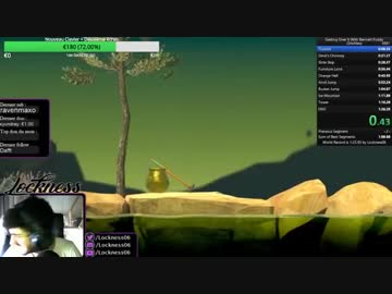 getting over it world record speedrun