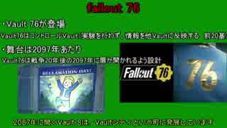 【fallout4】 解説部分まとめ編 その4【ゆっくり解説】