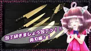 【第四回ひじき祭】包丁研ぎましょう包丁っ!両刃編!!