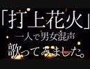 【綾前叶音×綾前叶音】「打上花火」を一人二役で歌いました【VTuber】