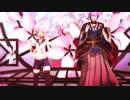 【刀艦乱舞】歌仙と青葉で『神のまにまに』【MMD】