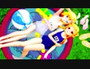 【MMD杯ZERO】 夏っぽく CALL ME CALL ME 【レア様&らぶリン】