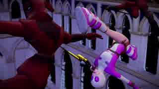 【MMD杯ZERO参加動画】GWENPOOL Too Keen , RUMBLE!