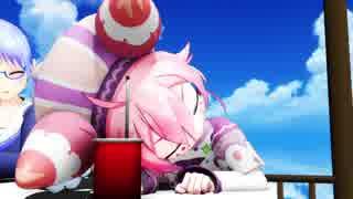 【MMD杯ZERO参加動画】いちごちゃんが眠そうです(1080p)【MMDにじさんじ】