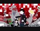 【おそ松さん人力・手描き合作】ハンlグリーlモンlスター【長男】