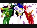 【18夏MMDふぇすと本祭】 MMDワンピ★燃え盛る悪の軍団! ジェルマ66【MMD杯ZERO参加動画】