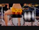 【MiluMMD】ドラムで千本桜 1080p【ray-mmd】