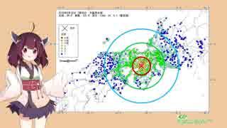 東北ずん子と地震のお話 第2話【地震と断層】