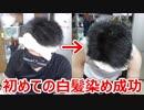 30代男、ルシードで初めての白髪染め【徳・便・e】