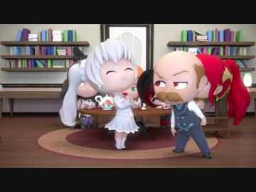 RWBY Chibi FULL EPISODE_ Season 3, Episode 9 - Tea Party【日本語字幕】