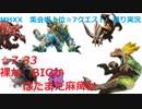 【MHXX/NS】上位になったからこそ集会場縛りプレイ【S7-33】VSジンオウガ、ティガレックス他