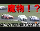 【魔物】2018 SUPER GT Rd.6 SUGO SC後最後の6周