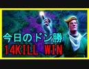 【Fortnite】今日のドン勝 14KILL WIN【フォートナイト】