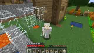 【マイクラ】植林場と丸石製造機と火事【初心者クラフト】Part6