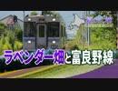 【北海道鉄道旅2018夏 #8】紫色に染まる夏の大地@中富良野→旭川
