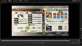 [プレイ動画] 戦国無双4の関ヶ原の戦い(東軍)をかぐらでプレイ