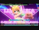 【PDAFT】ルカルカ★ナイトフィーバー(EXTRA EXTREME) 鏡音リン:しましまビキニ