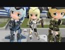 【MMD】キューボッシュっぽい轟雷たちでDreamFighter