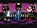 【人力&MMD】骨とヒューマンでHappy Halloween【Undertale】