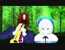 【MMD】 煽りグルメレース / Trumpet MEME【ばあちゃる&電脳少女シロ】【1080p】