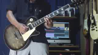 B'z『WOLF』フルっぽくアレンジしてギターインスト弾いてみた