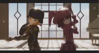 【MMD】タイトル修正GGOのフカ次郎とレンちゃんにトゥインクル×トゥインクルを踊ってもらいました。