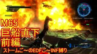 【地球防衛軍5】Rストームご~のINF縛りでご~ M65前【実況】