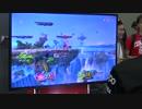 【スマブラSP】ピカチュウ VS インクリング【ゲームプレイ映像】