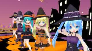 【MMD】 ちびあぴ達で ♪ Happy Halloween ♪ 2