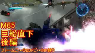 【地球防衛軍5】Rストームご~のINF縛りでご~ M65後【実況】