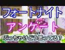 """【フォートナイトバトルロイヤル】アンケート""""ぶっちゃけどう思ってる?""""【Fortnite】"""
