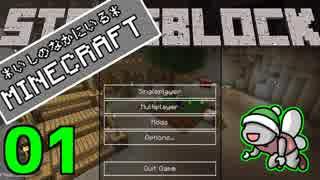 【Minecraft 1.12】*いしのなかにいる*MINECRAFT part.01【StoneBlock】