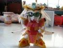 【SDガンダム】前にフェルトで作った孫尚香ガーベラを直してみた。 thumbnail