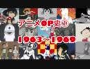 アニメOP史① 1963〜1969