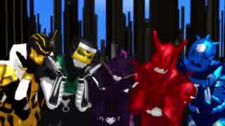 【MMD】気まぐれメルシィ【モモタロス・ウラタロス・キンタロス・リュウタロス・デネブ】【1080p】