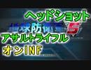 【オンinf】続アサルトライフル検証+α【ヘッドショット】