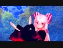 【東方MMD】和装妹紅が蛍舞う月光の中で魅せる極楽浄土(生足注意