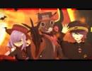 【MMD+UTAUカバー】Happy Halloween【虚音イフ・葛駄夜音/楼】