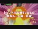 【ポケモンORAS】トリプル紅白戦BVまとめ動画・中将ルール前編【トリプル紅白戦】